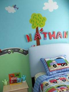 Nathan's bed!